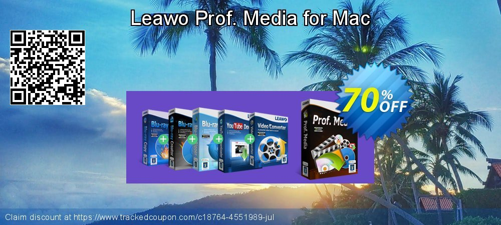 Get 70% OFF Leawo Prof. Media for Mac discount