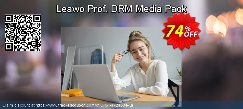 Leawo Prof. DRM Media Pack coupon on New Year discount