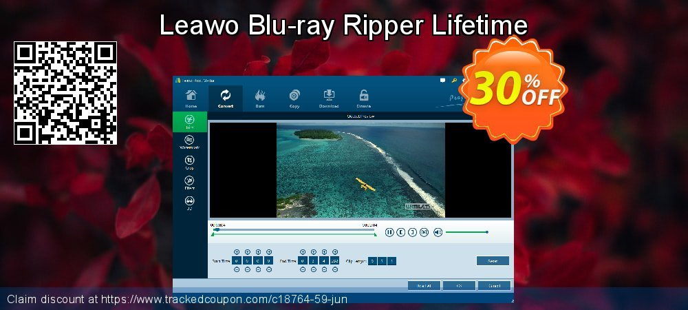 Leawo Blu-ray Ripper Lifetime coupon on Summer promotions