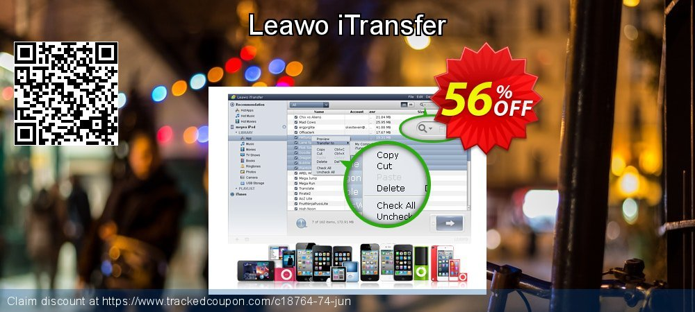 Get 30% OFF Leawo iTransfer deals