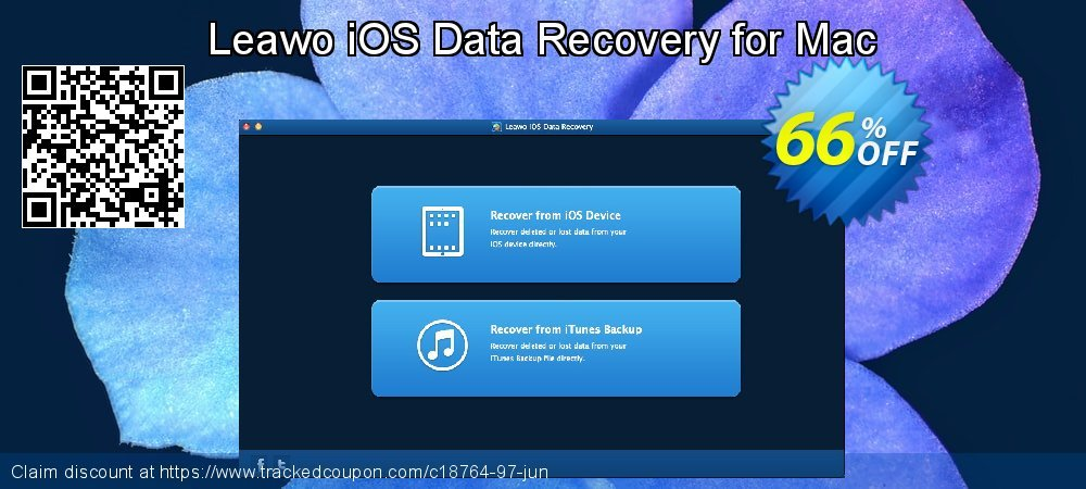 Leawo iOS Data Recovery for Mac coupon on Mid-year deals