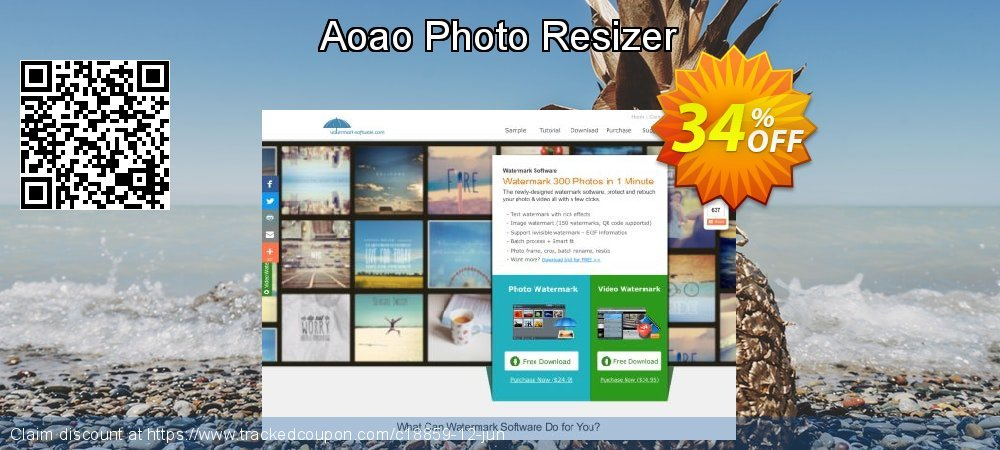 Get 30% OFF Aoao Photo Resizer discounts