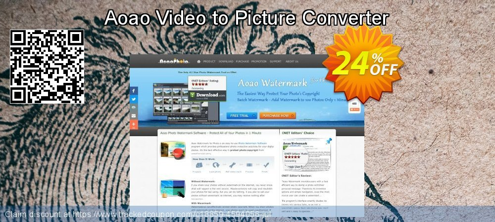 Aoao Video to Picture Converter coupon on Halloween sales