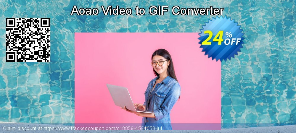 Aoao Video to GIF Converter coupon on Halloween offer