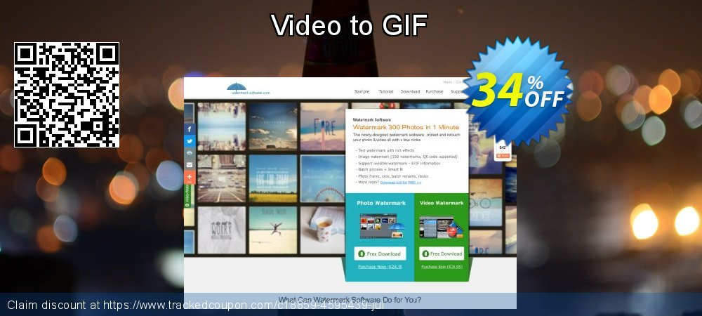 Video to GIF coupon on Mothers Day deals