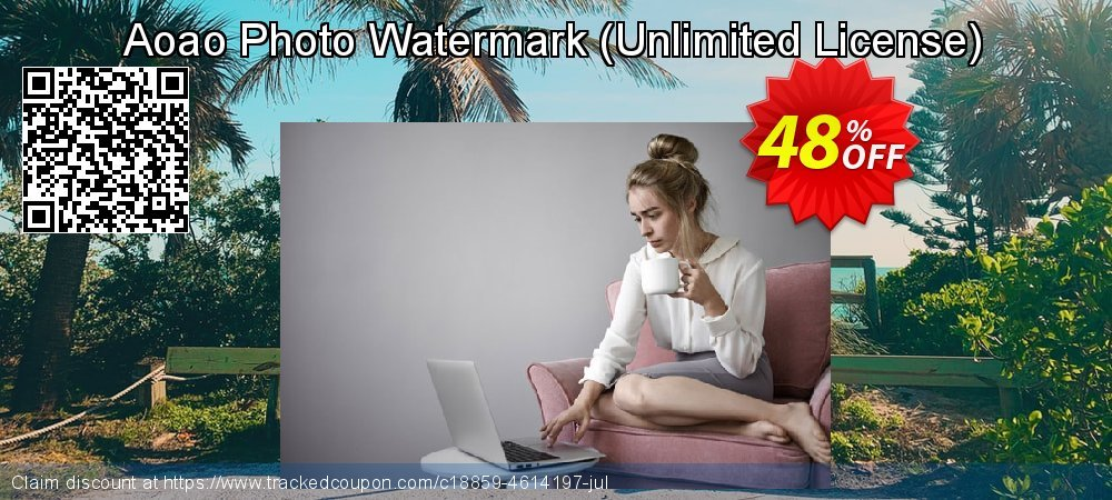 Aoao Photo Watermark - Unlimited License  coupon on Mothers Day discount