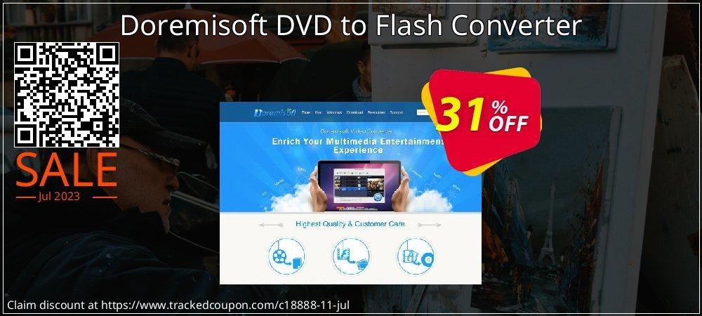 Get 30% OFF Doremisoft DVD to Flash Converter promo