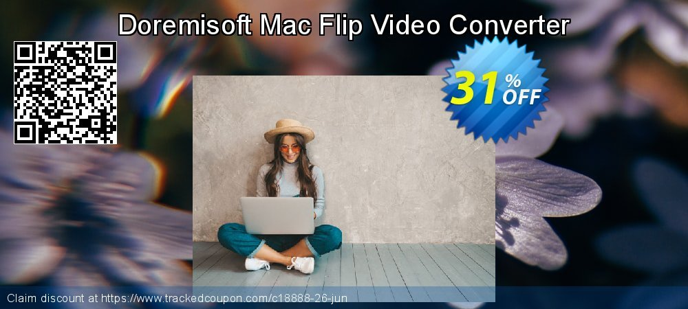 Get 30% OFF Doremisoft Mac Flip Video Converter offering discount
