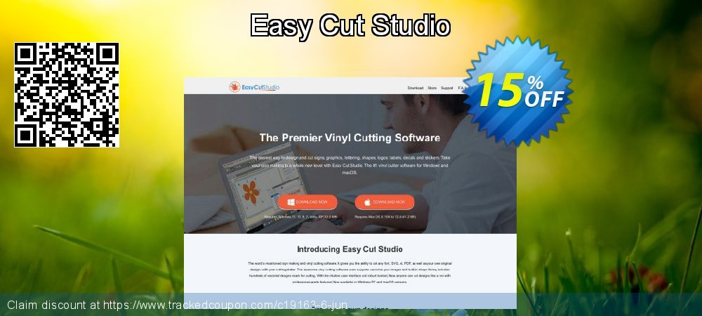 Easy Cut Studio coupon on Mom Day offer