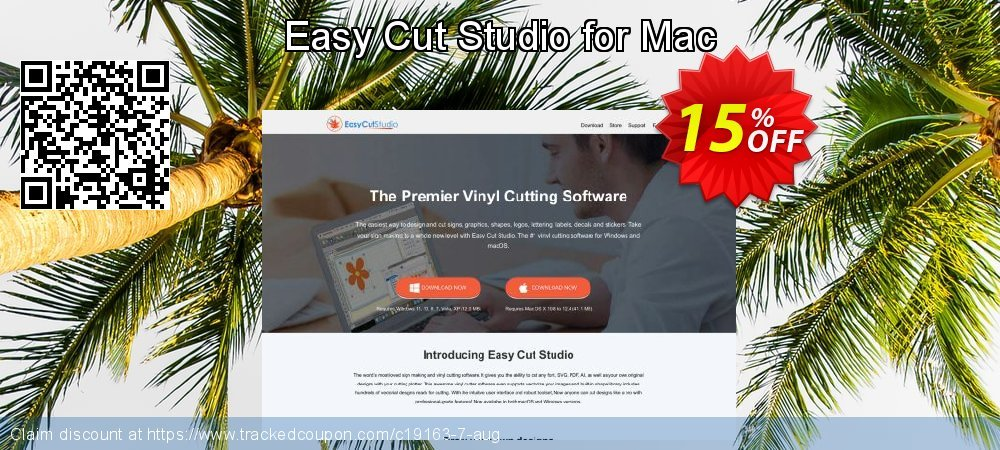 Easy Cut Studio for Mac coupon on Mothers Day discount