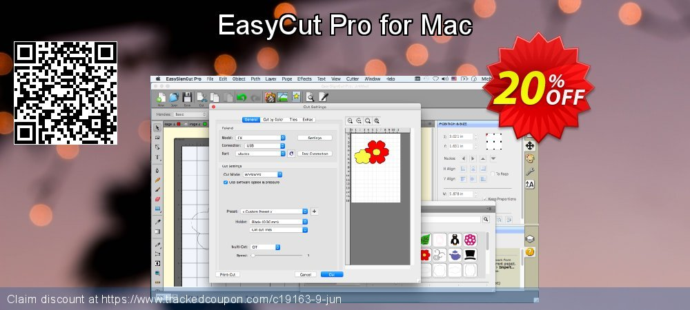 EasyCut Pro for Mac coupon on Mothers Day offering sales