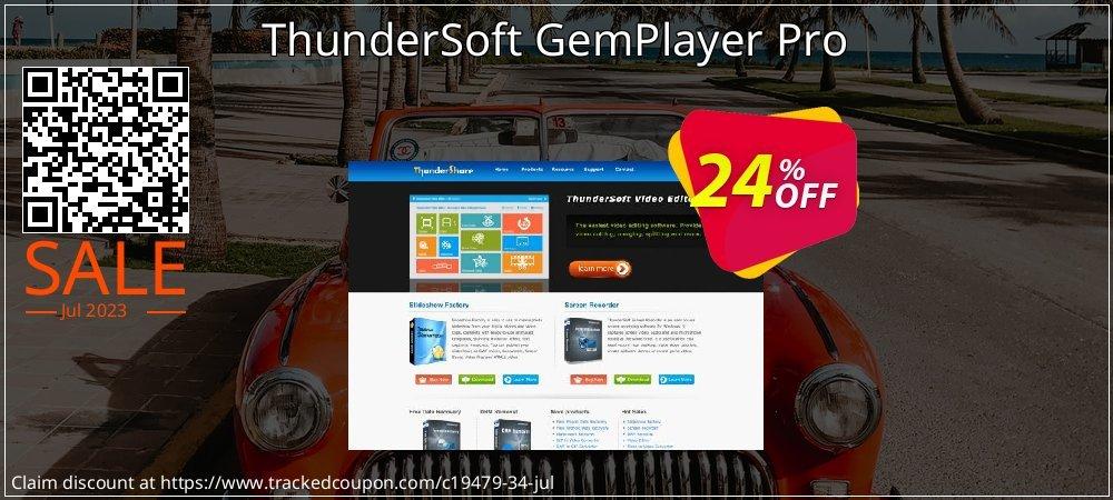 Get 20% OFF ThunderSoft GemPlayer Pro deals