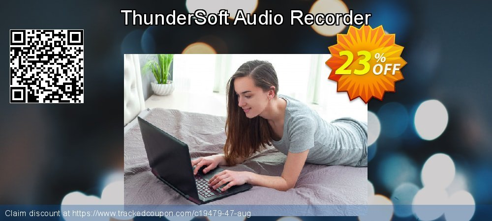 ThunderSoft Audio Recorder coupon on Natl. Doctors' Day super sale