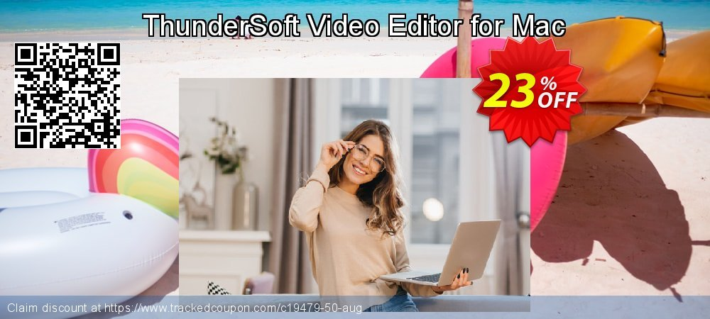 ThunderSoft Video Editor for Mac coupon on Natl. Doctors' Day sales