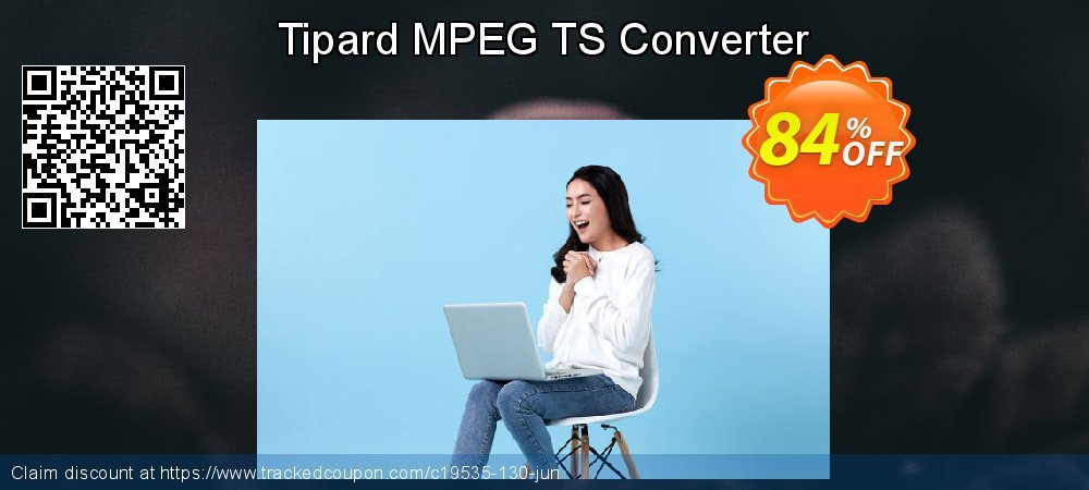 Get 84% OFF Tipard MPEG TS Converter offering sales