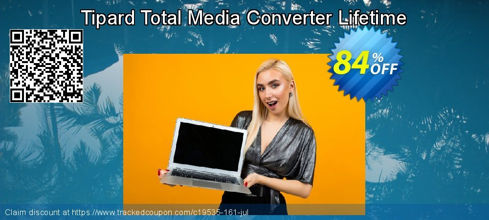 Tipard Total Media Converter Lifetime License coupon on Black Friday offering discount