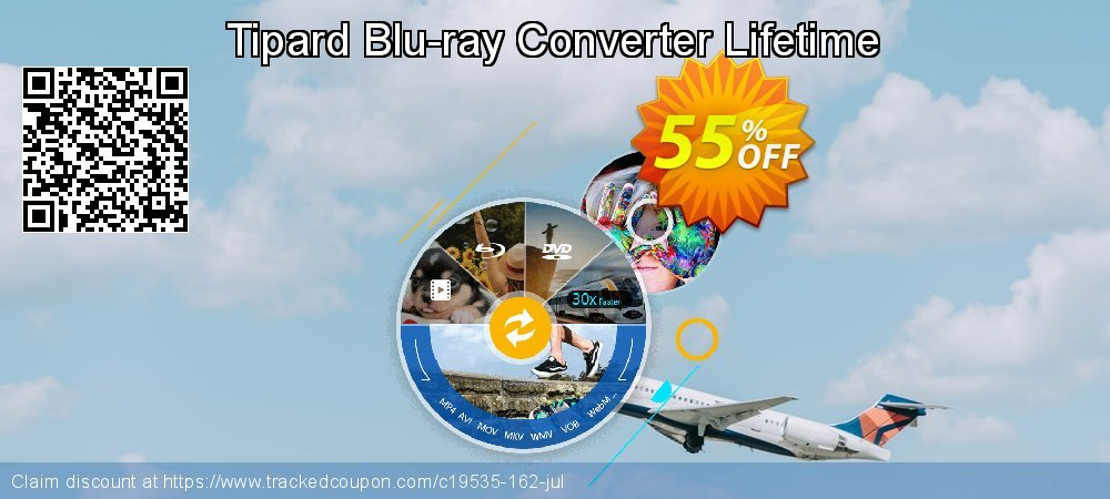 Tipard Blu-ray Converter Lifetime coupon on Halloween offering discount