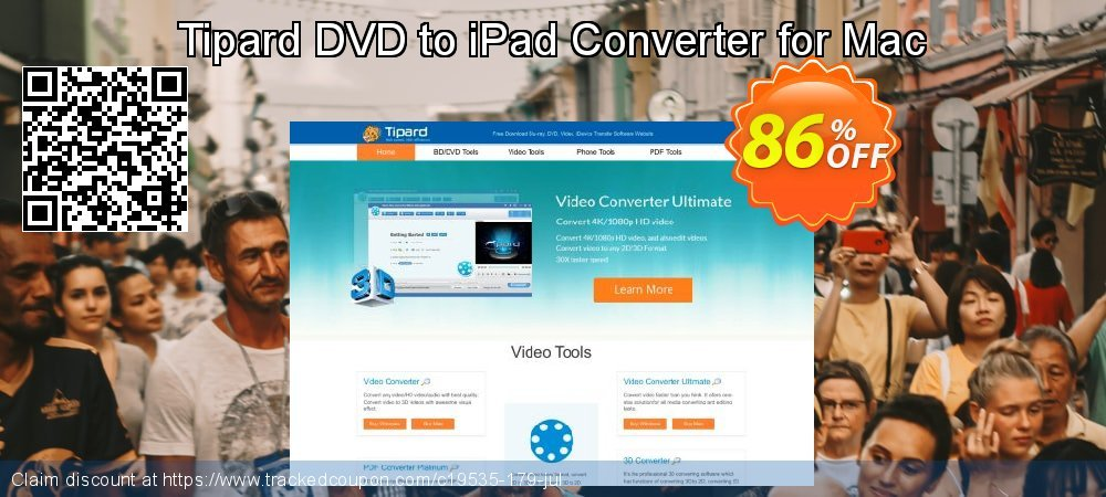 Get 40% OFF Tipard DVD to iPad Converter for Mac offering sales