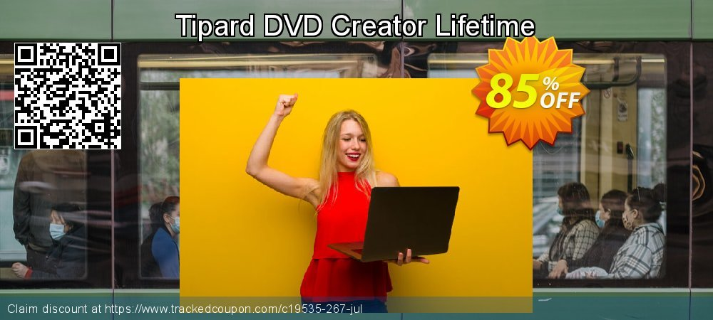 Tipard DVD Creator Lifetime License coupon on Lunar New Year deals