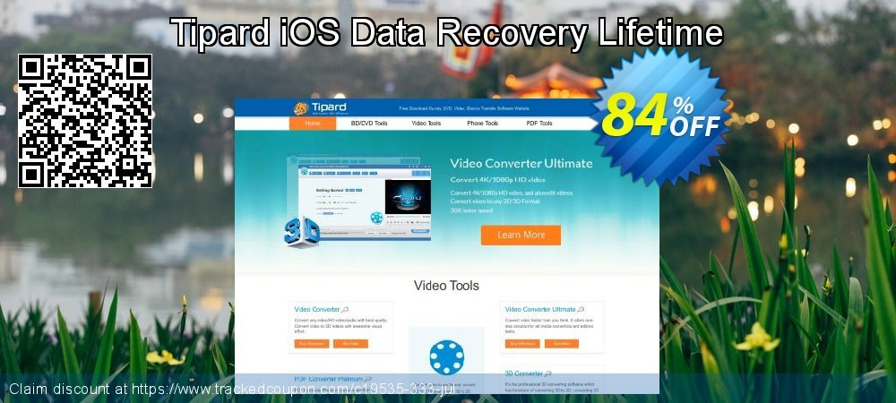 Claim 84% OFF Tipard iOS Data Recovery Lifetime Coupon discount March, 2021