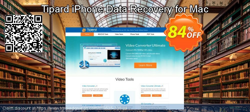 Claim 40% OFF Tipard iPhone Data Recovery for Mac Coupon discount May, 2019