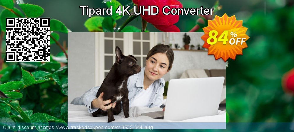 Tipard 4K UHD Converter coupon on Christmas Day promotions