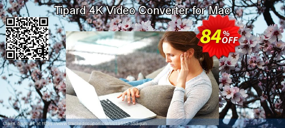 Tipard 4K Video Converter for Mac coupon on Valentines Day deals