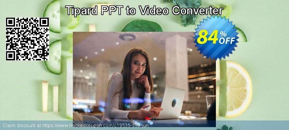 Get 84% OFF Tipard PPT to Video Converter offering sales