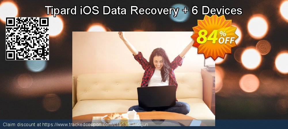 Tipard iOS Data Recovery + 6 Devices coupon on Back to School offer discount