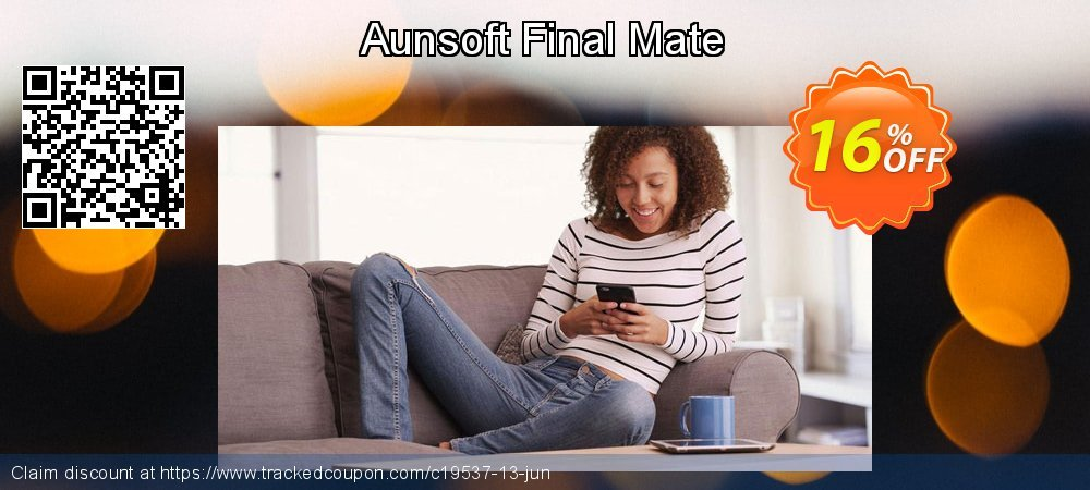 Get 15% OFF Aunsoft Final Mate promo sales