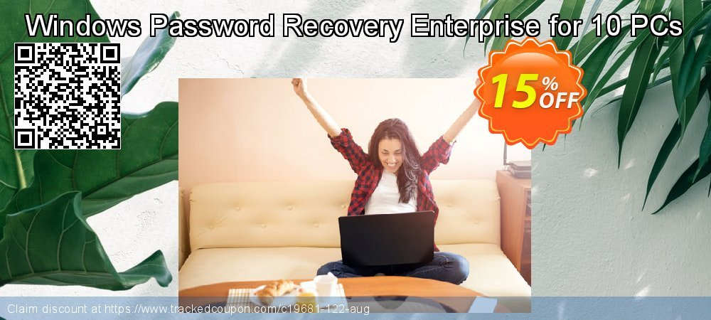 Get 15% OFF Windows Password Recovery Enterprise for 10 PCs offering sales
