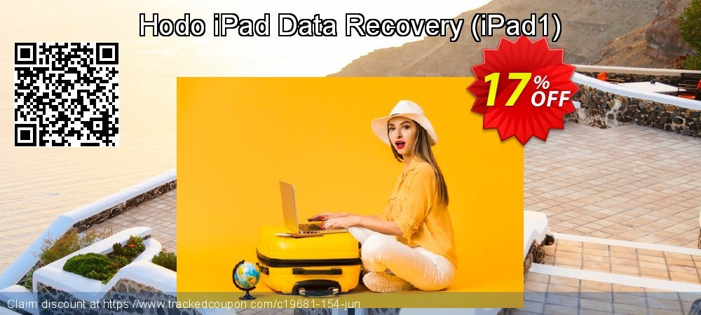 Get 15% OFF Hodo iPad Data Recovery (iPad1) promo