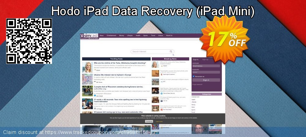Get 15% OFF Hodo iPad Data Recovery (iPad Mini) offering sales