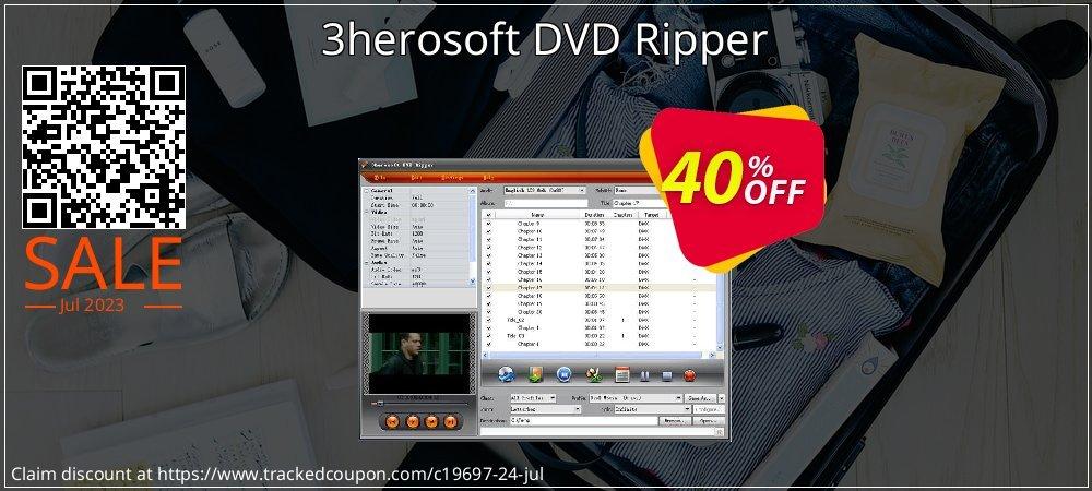 Get 30% OFF 3herosoft DVD Ripper discounts