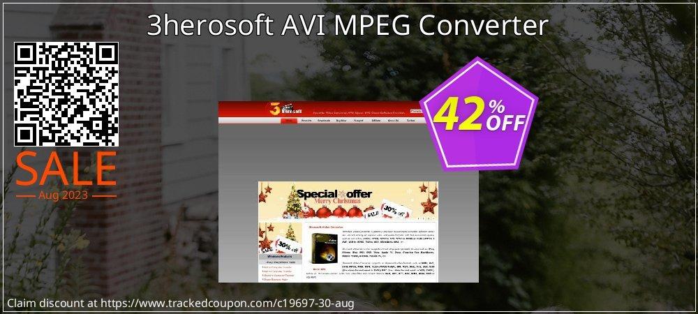 Get 40% OFF 3herosoft AVI MPEG Converter offering sales