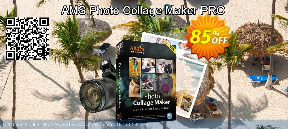AMS Photo Collage Maker PRO coupon on Happy New Year offer
