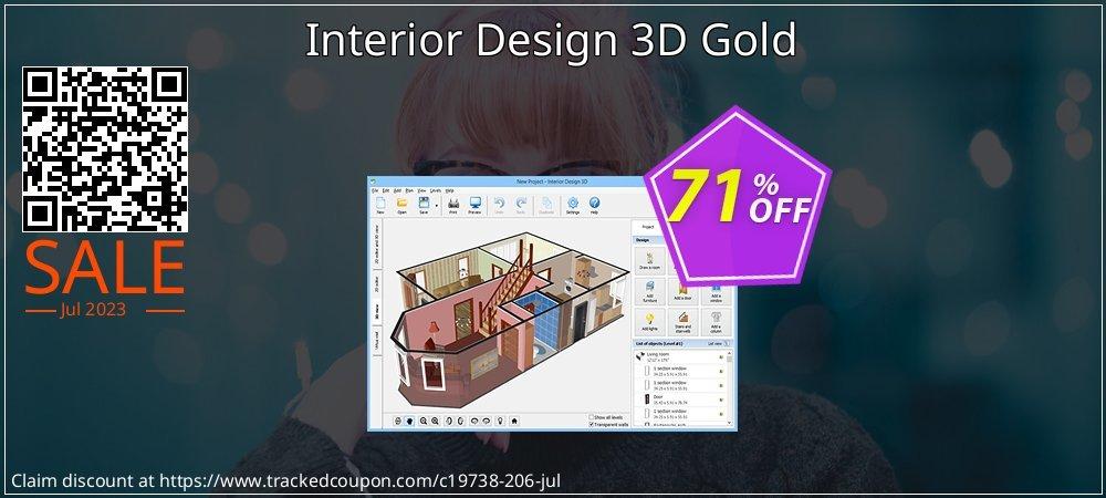 Get 70% OFF Interior Design 3D Gold offering discount