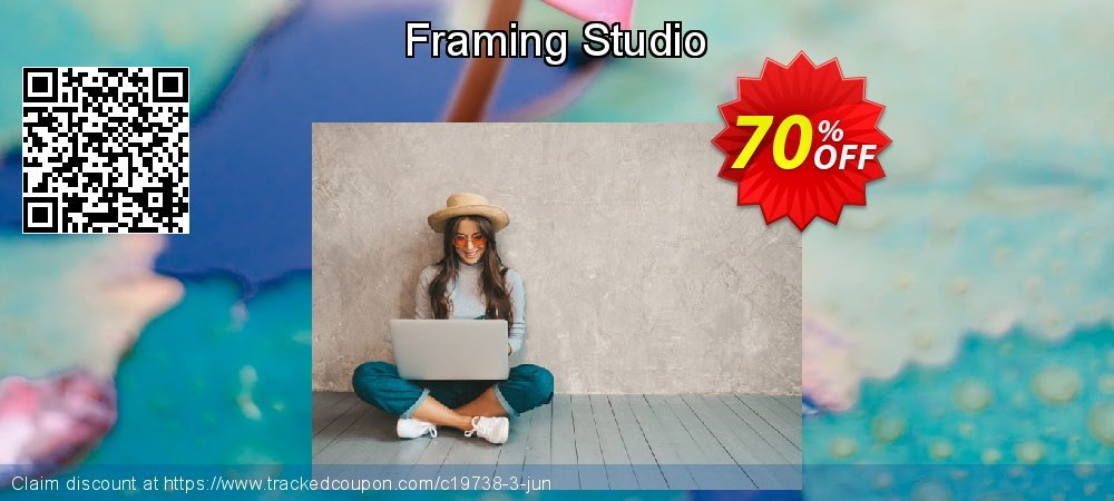 Get 70% OFF Framing Studio offering sales