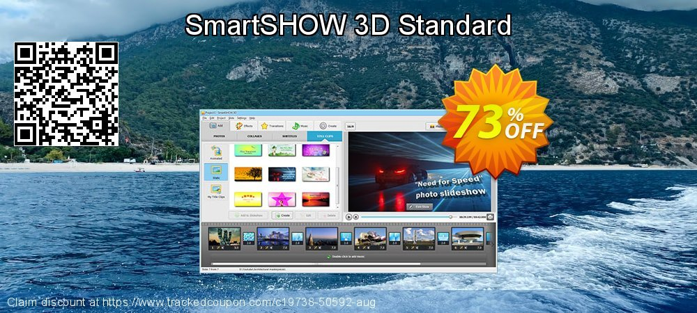 SmartSHOW 3D Standard coupon on New Year discount