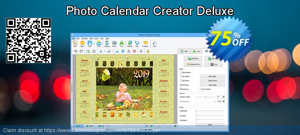 Get 70% OFF Photo Calendar Creator Deluxe offering sales