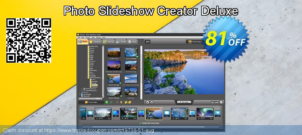 Photo Slideshow Creator Deluxe coupon on Spring sales