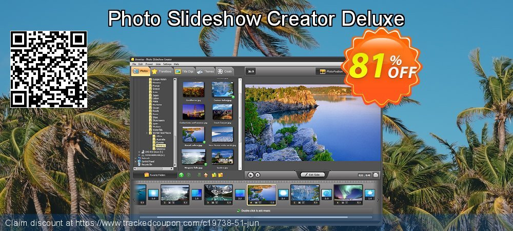 Photo Slideshow Creator Deluxe coupon on Halloween super sale