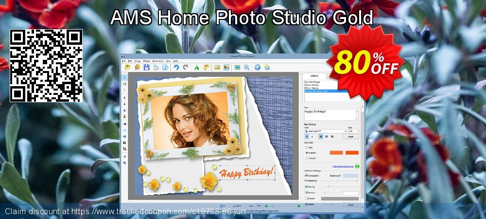 AMS Home Photo Studio Gold coupon on Easter promotions