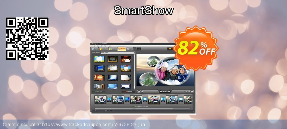 SmartShow coupon on Lunar New Year super sale
