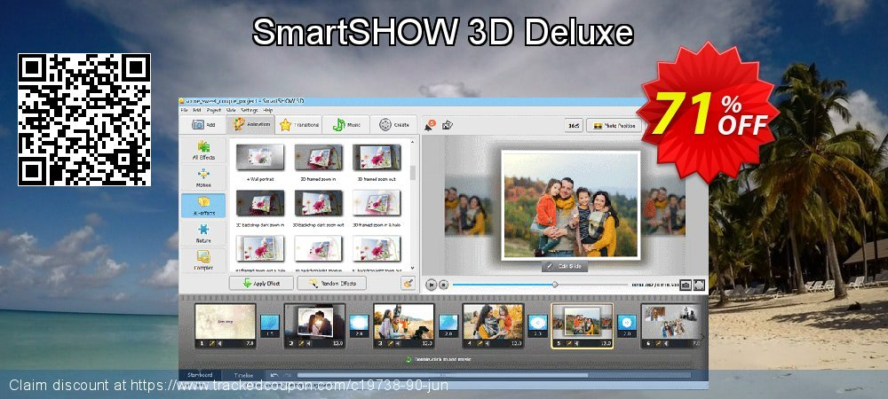 SmartSHOW 3D Deluxe coupon on Easter discount