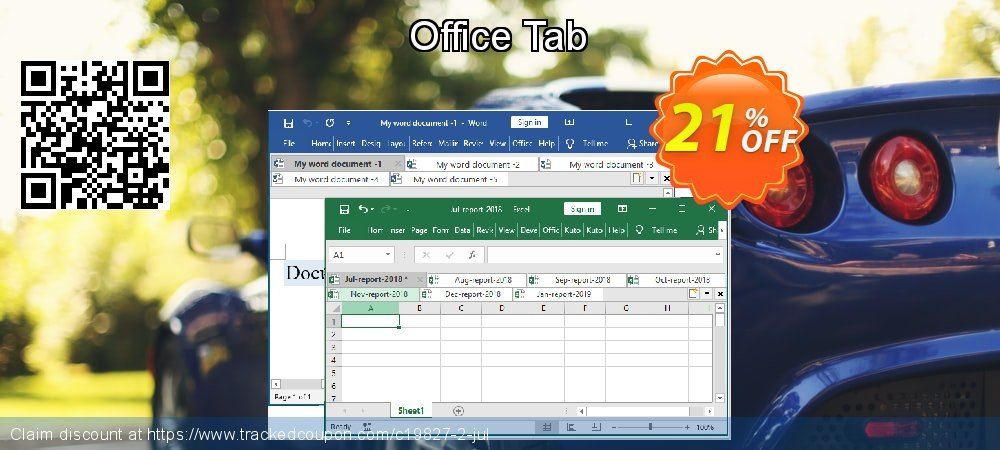 Office Tab coupon on New Year deals
