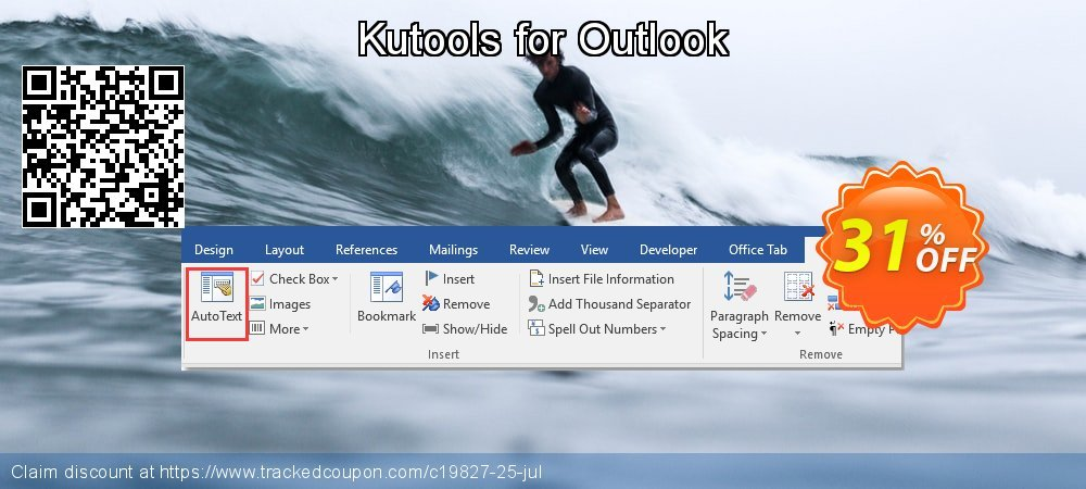 Kutools for Outlook coupon on Easter Sunday sales