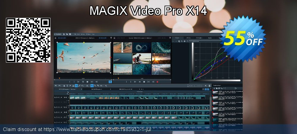 MAGIX Video Pro X coupon on New Year's eve deals