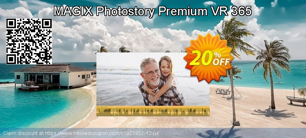 MAGIX Photostory Premium VR 365 coupon on Mom Day offering sales