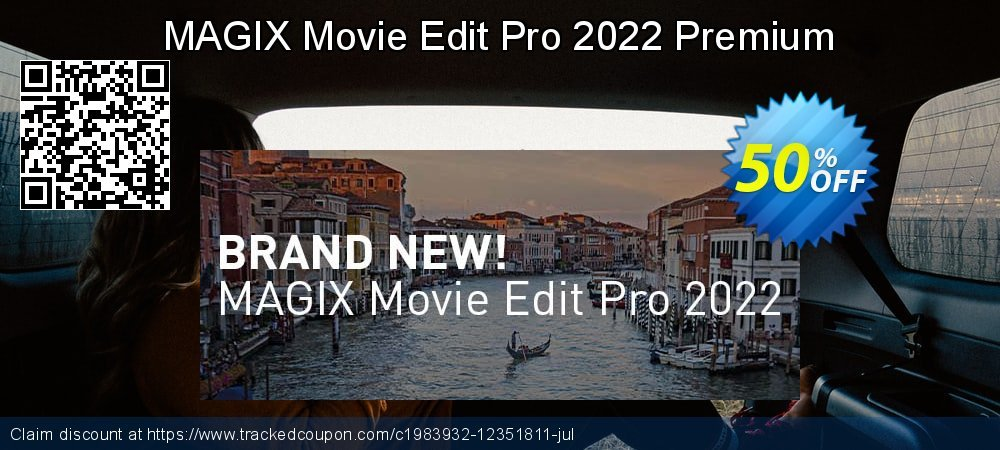 MAGIX Movie Edit Pro Premium 2021 coupon on Mothers Day super sale